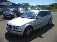 2002 BMW 330d SE TOURING AUTO SILVER PX PX