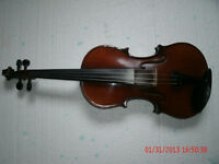 ANTIQUE MARTIN VIOLIN , MARKNEUKIRCHEN GERMANY CIRCA 1883-1907