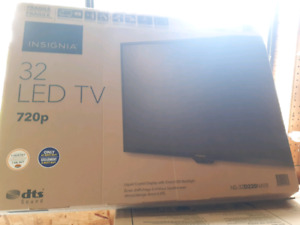 Brand new insignia led tv 32 inch