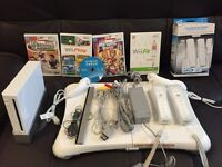 Nintendo Wii console, games and wii fit