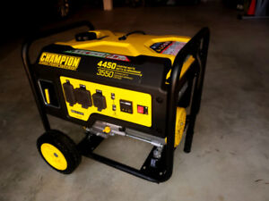 Portable generator - new, just out of the box!