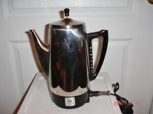 Vintage Charlescraft Coffee Percolater