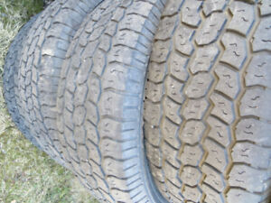 LT265/70R17 COOPER STARFIRE MUD AND SNOW TIRES