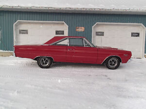 1967 GTX 440, 440,4 SPEED, DANA 1 OF 2486 BUILT