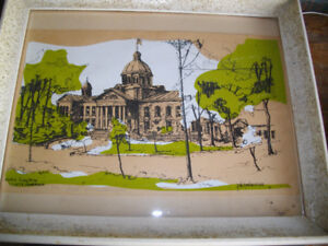 """FRED SCHONBERGER """"KINGSTON COUNTY COURTHOUSE """" 1/13 (1973"""