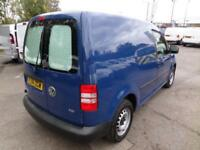 Volkswagen Caddy 1.6 Tdi 75Ps Startline Van DIESEL MANUAL BLUE (2014)