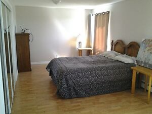 Large 2 bdrm completely furnished executive Available July 1st