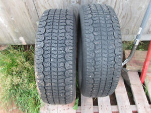 Pair of Studded Tires