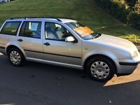 VW Golf estate full MOT