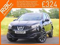 2013 Nissan Qashqai +2 - 2.0 360 Auto 7 Seater 4x4 4WD Pan Roof Sat Nav Rear Cam