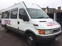 IVECO DAILY 2.8 TD 50C11 LWB 17 SEATER TWIN WHEEL MINIBUS (2002) DIESEL