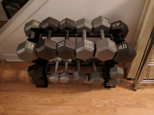 Barbell Hex Dumbbell Weights
