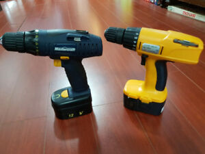cordless drills with batterys, no chargers