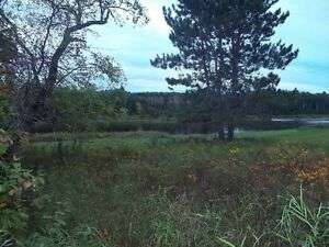 Trailer lot for sale with river view.