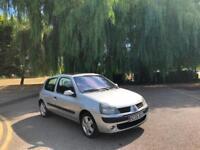 2005 Renault Clio 1.2 16v Dynamique 5 Door Hatchback Silver