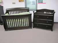 Crib and change table blowout!