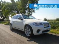 2012/62 BMW X5 3.0 50D M 4X4 5DR (START/STOP) WHITE - 381 BHP - MEGA SPEC!