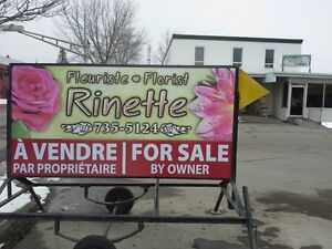 Florist Shop Business for Sale  -  Will consider any offer