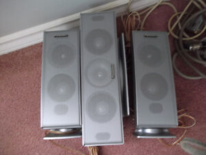 DVD player;CD player; speakers $40.takes all.Moving-Must Sell Peterborough Peterborough Area image 4