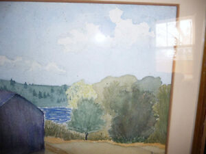 Co-Worker with Group of Seven,T. W. McLean, Original Watercolor Stratford Kitchener Area image 4
