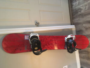 Ride Society 157 with Burton Cartel large bindings