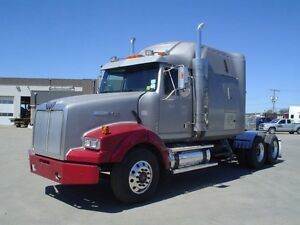 2007 Western Star 4900EX, Used Sleeper Tractor
