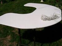 Table-custom made u-shaped