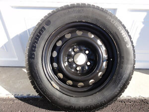 "15"" Conti Barum Polaris 3 Winter Tires and Rims  195/65R/15"