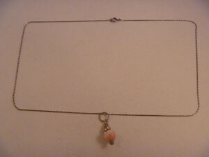 925 Silver Necklace With Charm