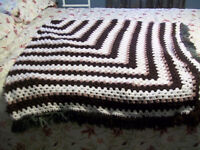 Home made Crocheted Afgan