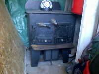Wood Stove with Electric Blower