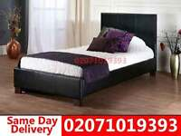 Single Leather bedding EASY TO ASSEMBLE