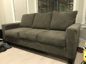 Couches (2) and matching storage ottoman for sale $500