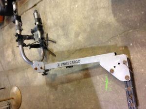SWISS Cargo Bike Rack Hitch $60 & we have a BIKE SALE!