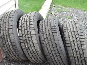 4 BRAND NEW GOODYEAR AND 2 MORE OTHER MAKES