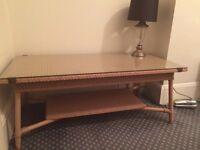 Lloyd loom coffee table