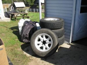 """American Racing17"""" Tires and Rims"""