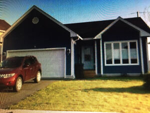 3 bedroom house w/ double attached garage!