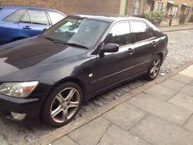 Lexus is200 black 2o2 ANY DOOR COMPLETE £45 each 98-05 breaking spares is 200 is300