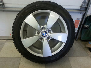 BMW mags with winter tires 225/50R17