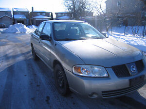 2006 Nissan SENTRA Sedan e-test and SAFETY MINT CONDITION