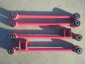 Subaru Pink Lateral Links WRX Forester Legacy Impreza