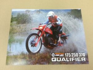 1979 can am Qualifier 175  250 370 brochure mint...