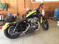 Harley Davidson nightster apple green and black