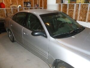 2002 Pontiac Grand Am Argent