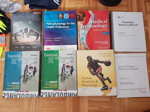 1st Year Paramedic Textbooks, latest editions: