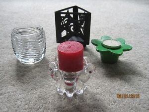 Various candle holders and Sairey Gamp ashtray Windsor Region Ontario image 9