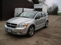 LEFT HAND DRIVE 2007 4X4 AWD DODGE CALIBER R/T AUTOMATIC AIR CON 1 OWNER LHD