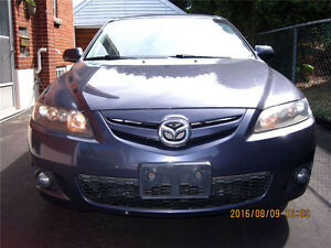 2007 MAZDA 6, SPORT M6S, Hatchback, Certified and E – Tested, HA
