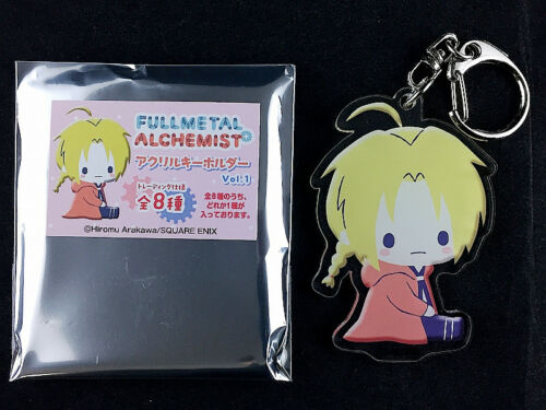 Fullmetal Alchemist Trading Acrylic Key Holder Ring Vol.1 Edward Elric 1 New